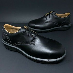 Timberland Boldon Oxfords Shoes Black Leather New